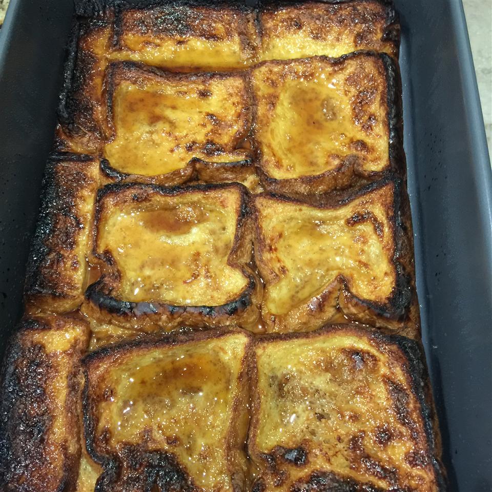 Overnight Apple Cinnamon French Toast nkonwe