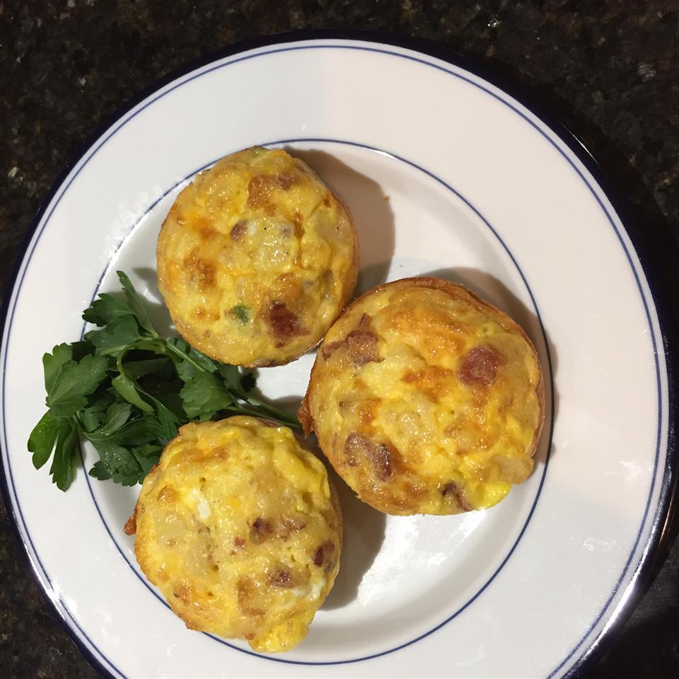 Eggs n Bacon Cupcake garnoldvb