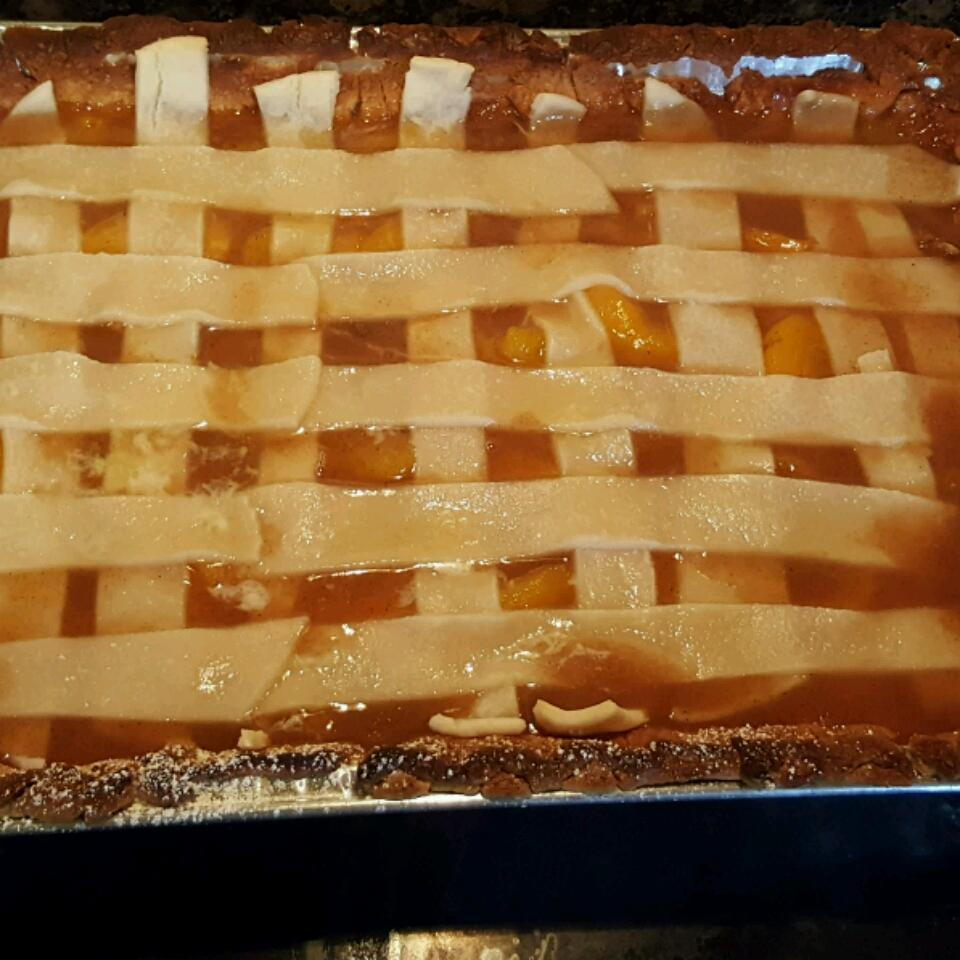 Old Fashioned Peach Cobbler Walter Brown