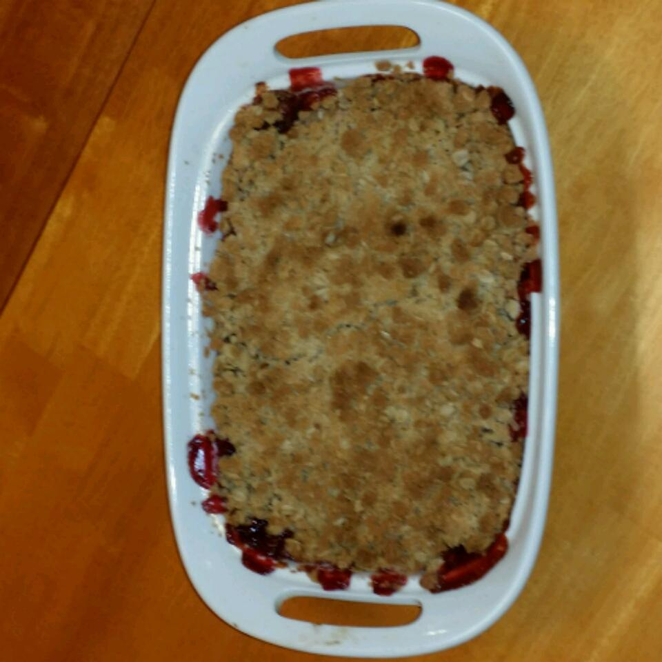 Apple-Raspberry Crisp Danielle