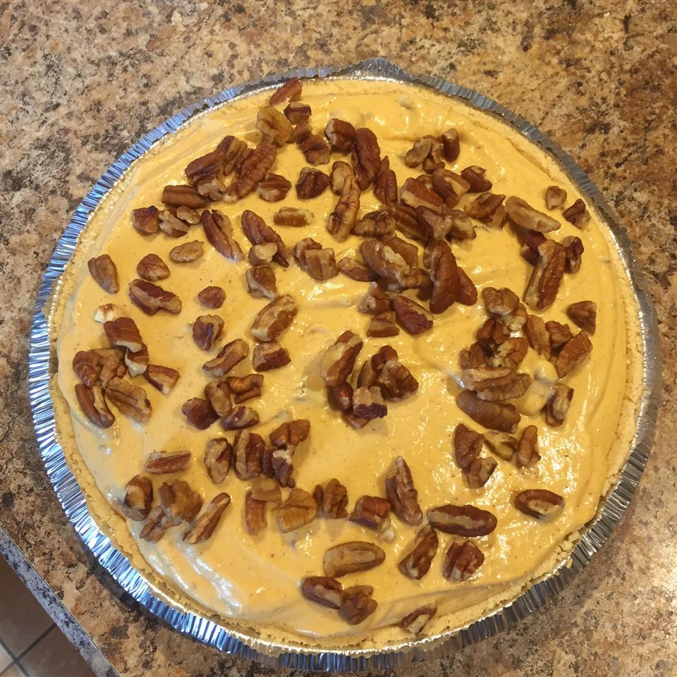 Pumpkin Pecan No-Bake Cheesecake Pie Annie Oakley