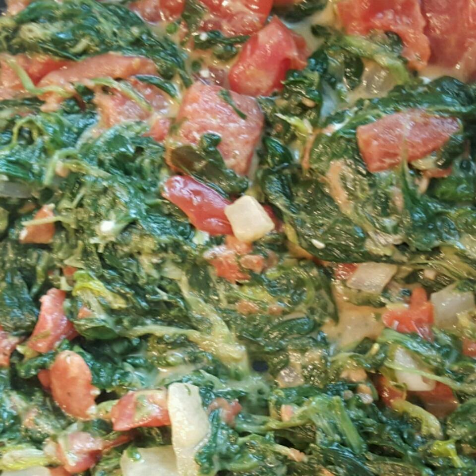 Spinach with a Twist Kenna