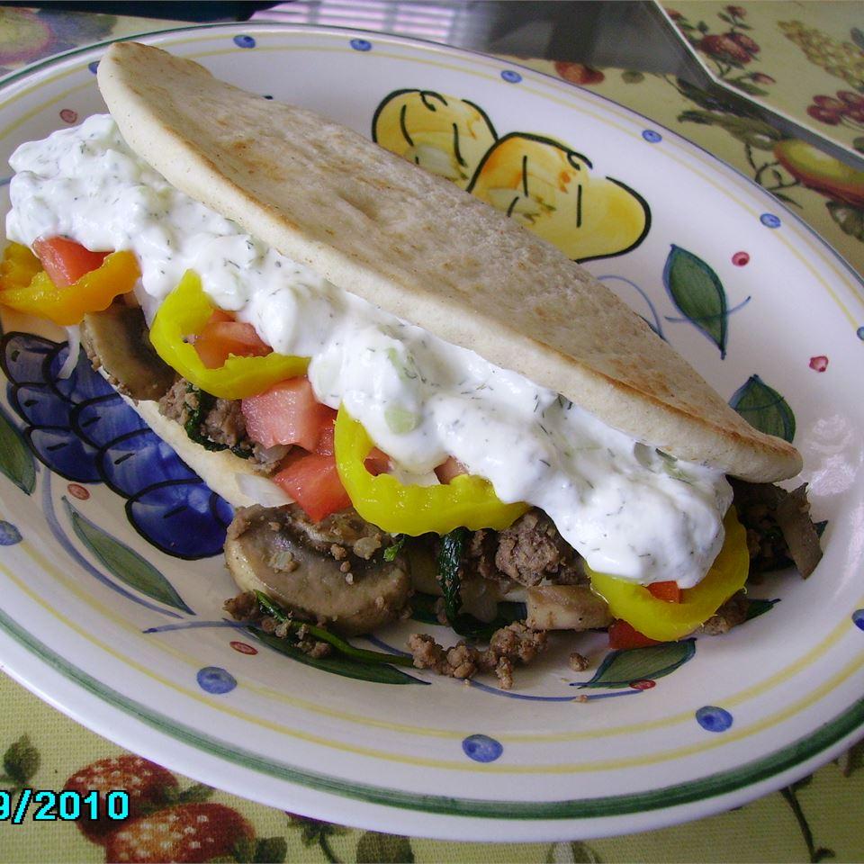 Scyros (Pita Sandwich)