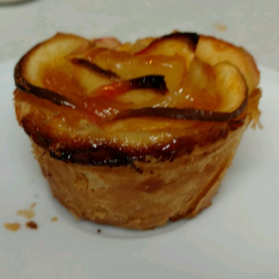 Baked Apple Roses HoneyBee