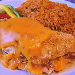 Bob's Mexican Stuffed Chicken