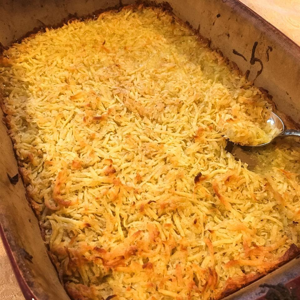 Aunt Margie's Sweet Potato Pone