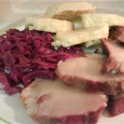 Knedliky - Czech Dumpling with Sauerkraut (Zeli)