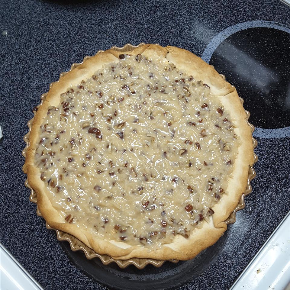 German Chocolate Pie Candace