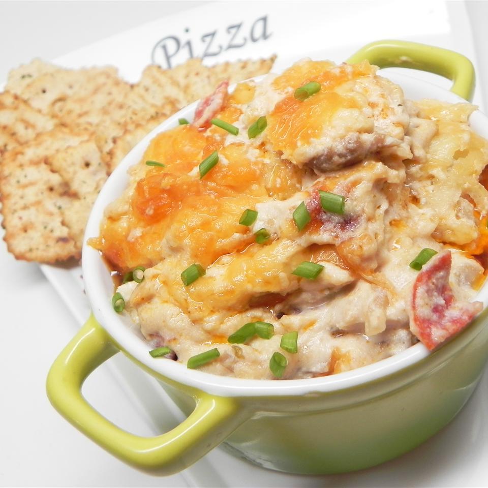 Cheesy White Pizza Dip Soup Loving Nicole