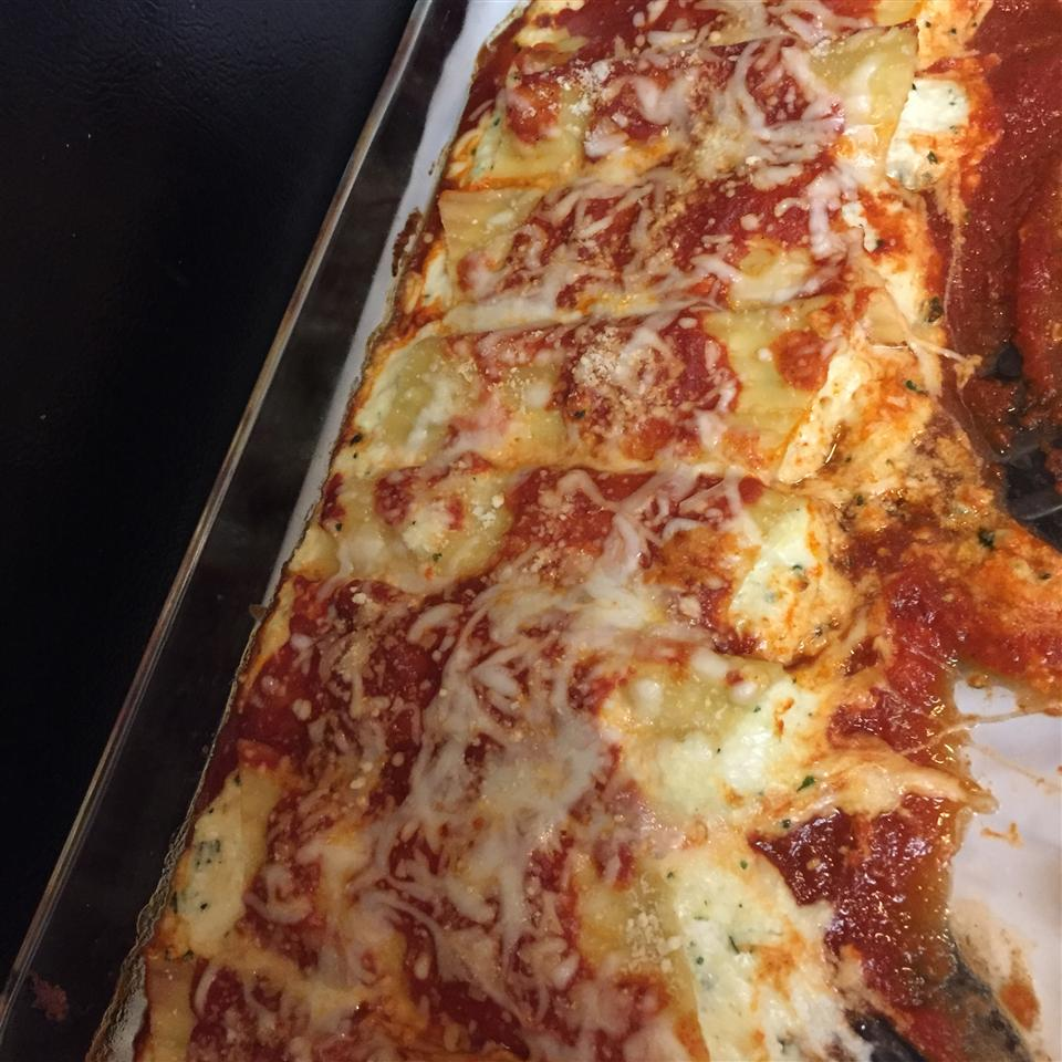 Three Cheese Manicotti II sodapop