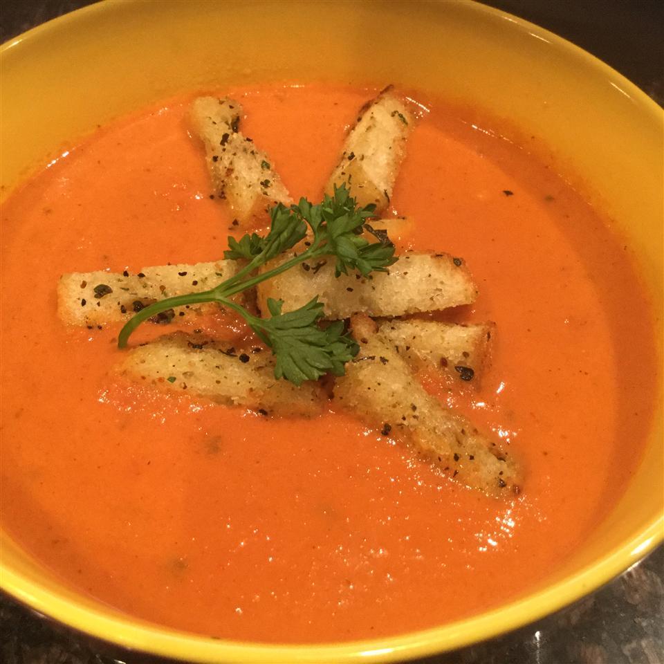 Creamy Tomato Soup (No Cream)