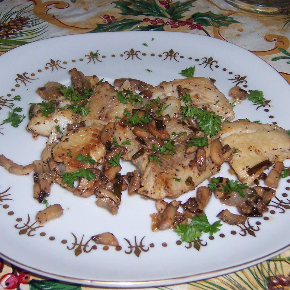 Zesty Tilapia with Mushrooms
