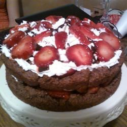 Chocolate Strawberry Shortcake kaisajoy