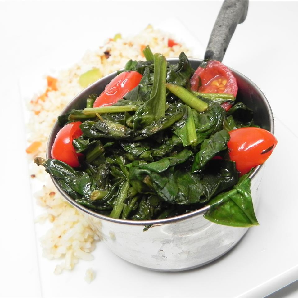 Kickin' Vegetarian Collard Greens