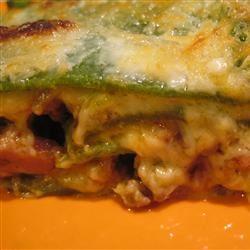 Lasagne Verdi al Forno neonderthal