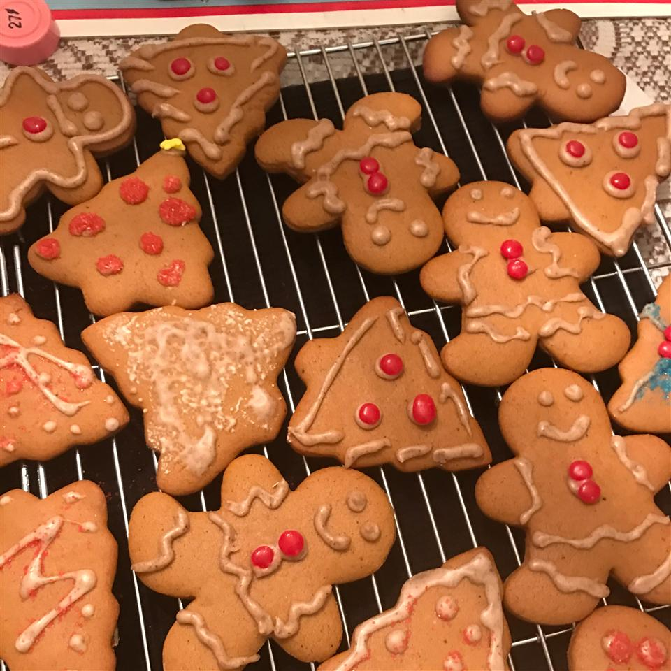 Gingerbread Frosting for Cookies