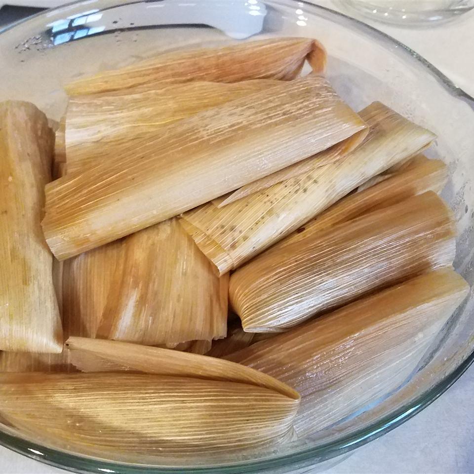 Leftover Turkey Tamales