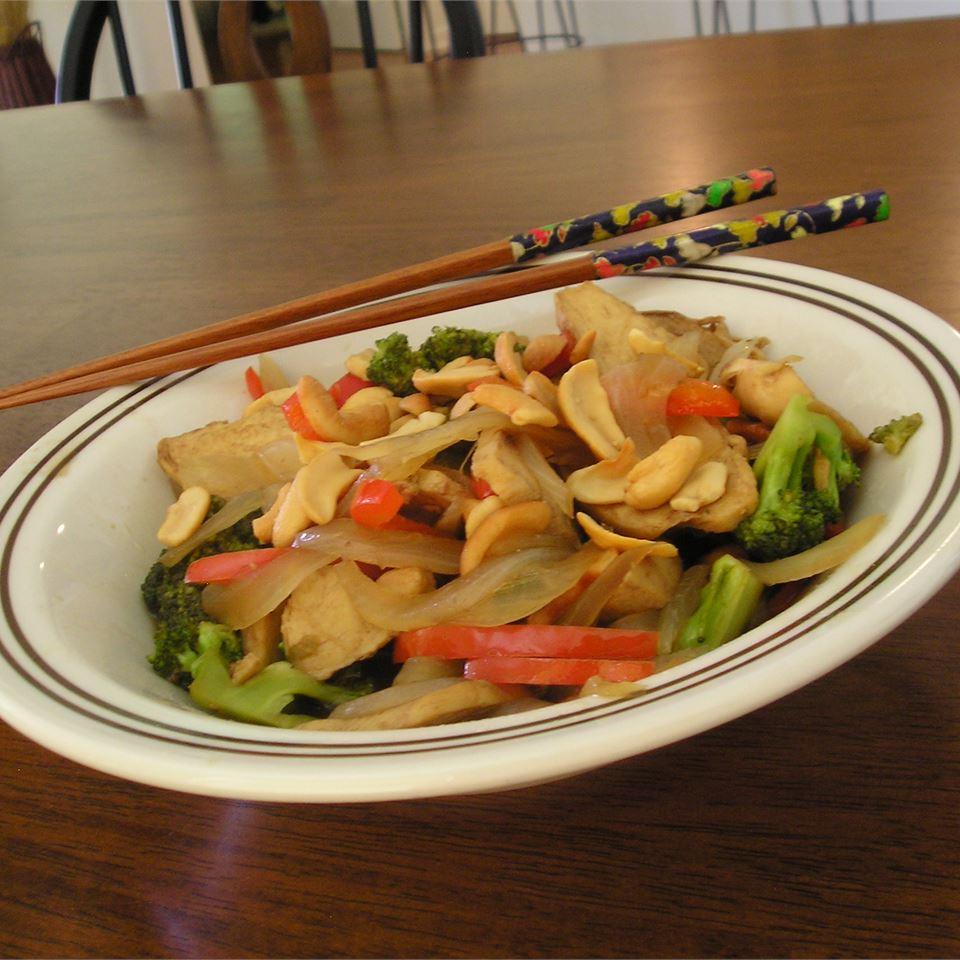 Vegetable Cashew Saute