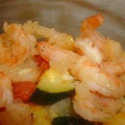 Shrimp with Penne and Squash amandak23k