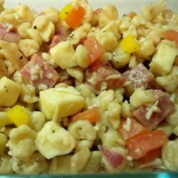 Pasta Salad with Homemade Dressing Hanny Manny