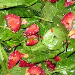 Strawberry Spinach Salad I
