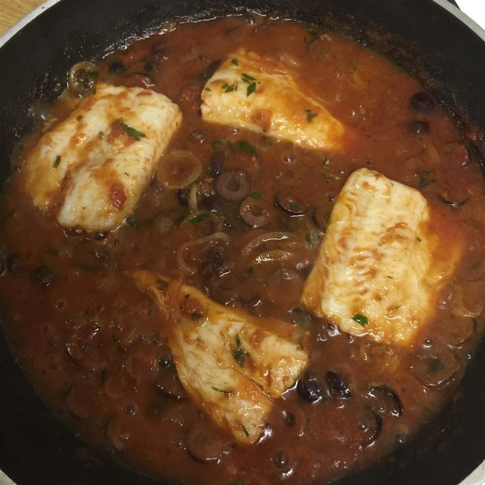 Fish Fillets Italiano