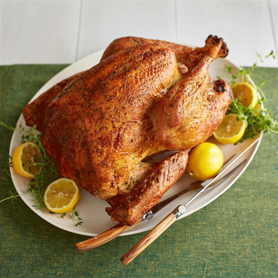 Lauren's Apple Cider Roast Turkey Allrecipes Magazine