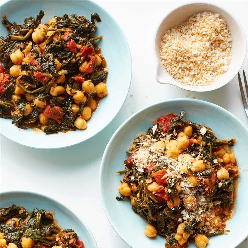 Sandy's Chickpea and Spinach Stew Allrecipes Magazine