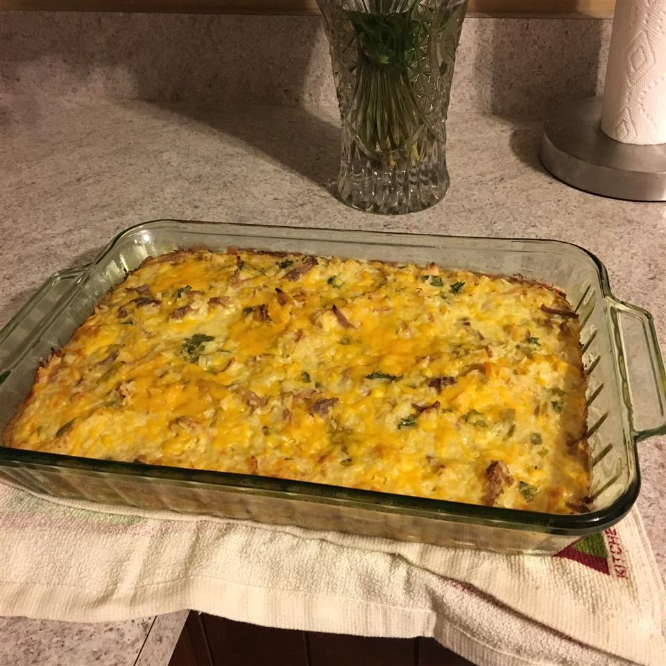 Cheesy Turkey Rice Casserole spintwist