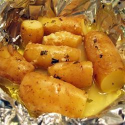 Potatoes in Paper