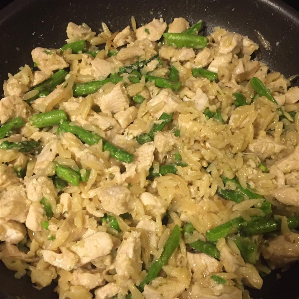 Risotto with Chicken and Asparagus katie