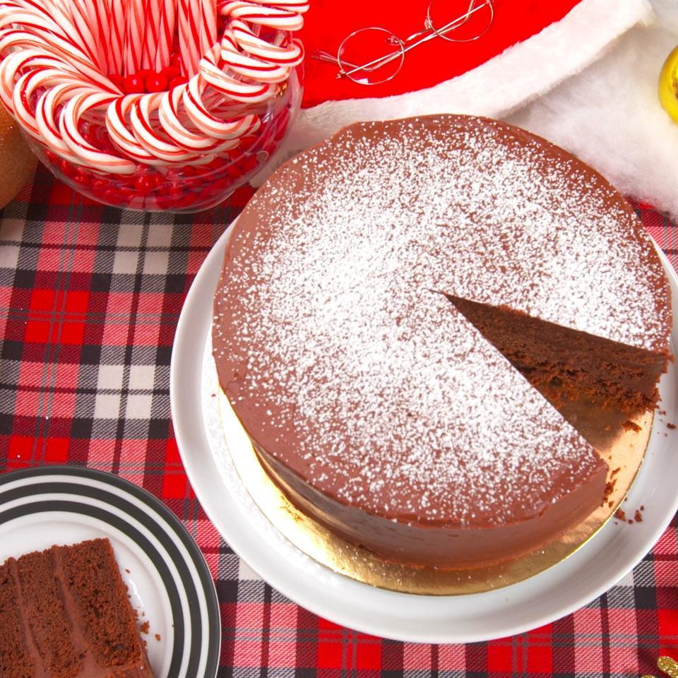 HAVE MERCY!  Triple Chocolate Cake