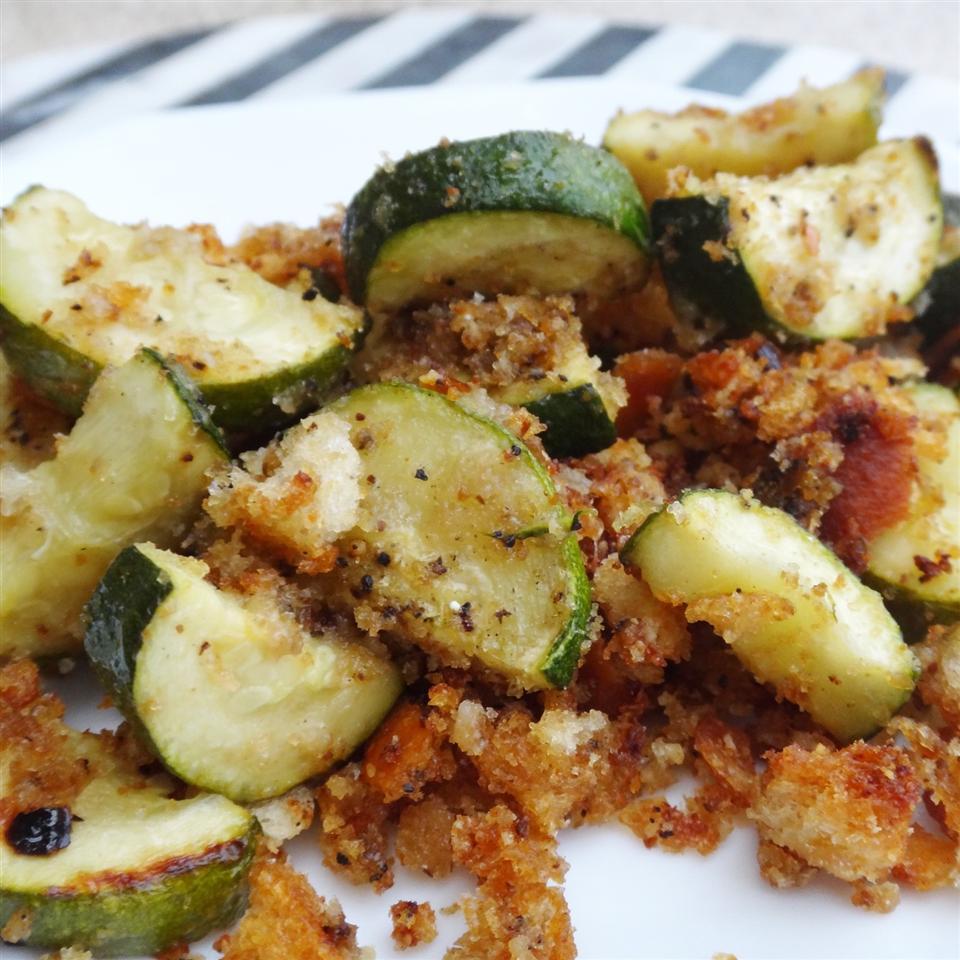 Kitt's Oven-Roasted Zucchini