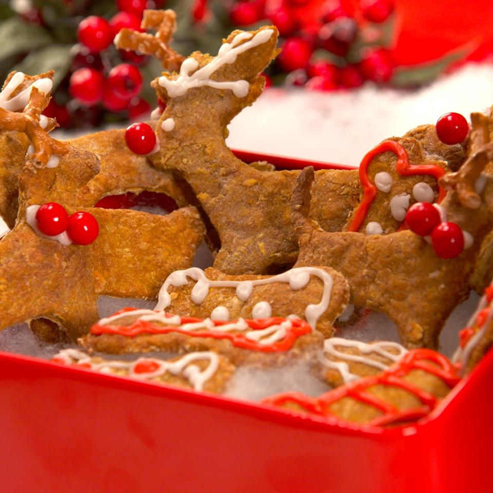 Cosmos Reindeer Cookie Dog Treats