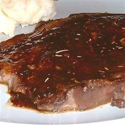 Pan-Fried Steak with Marsala Sauce Erimess