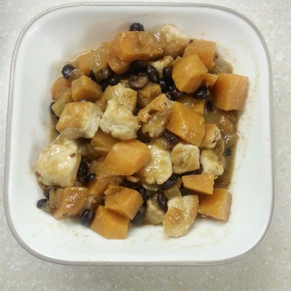 Pork Sweet Potato Stew