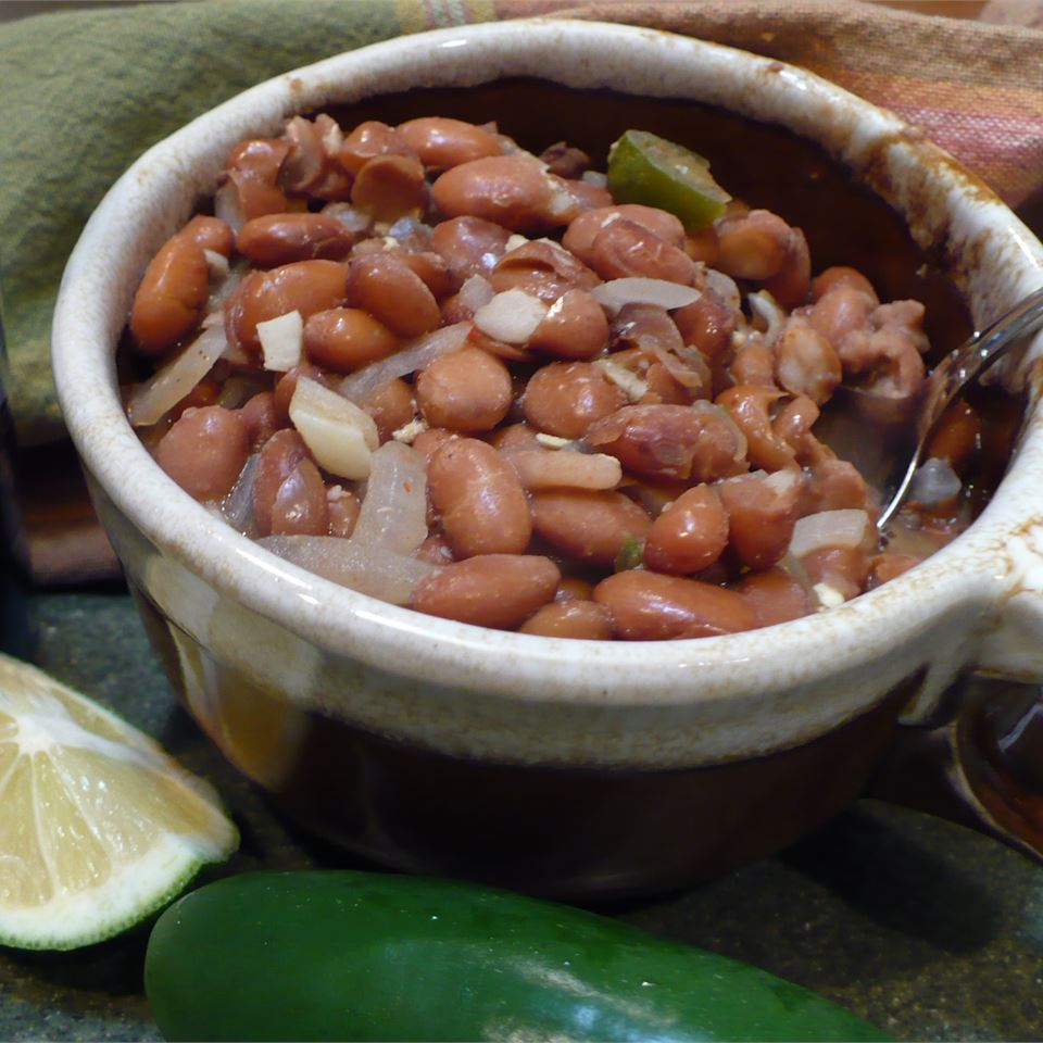 Beer Simmered Beans SweetBasil