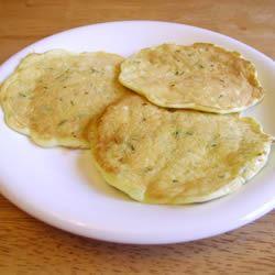 Zucchini Pancakes Lisa M