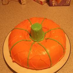 Two Ingredient Pumpkin Cake