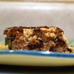 Oatmeal Cookie Bars Diana Kritinar