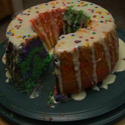 Rainbow Clown Cake Foodie Family