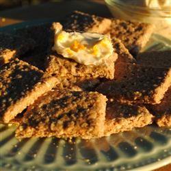 Oatmeal Crackers Pam Ziegler Lutz