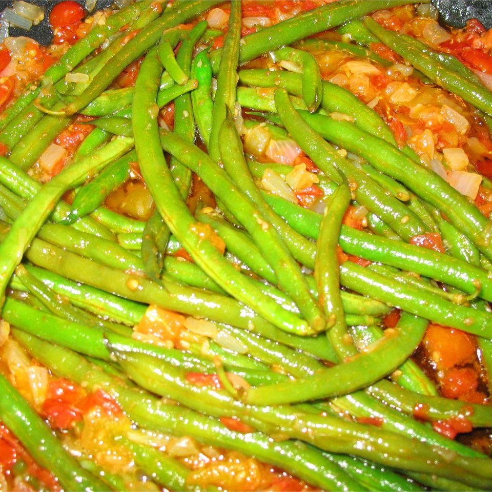 Greek Green Beans Cassidy Jones
