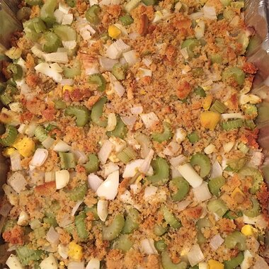 mommas cornbread dressing recipe
