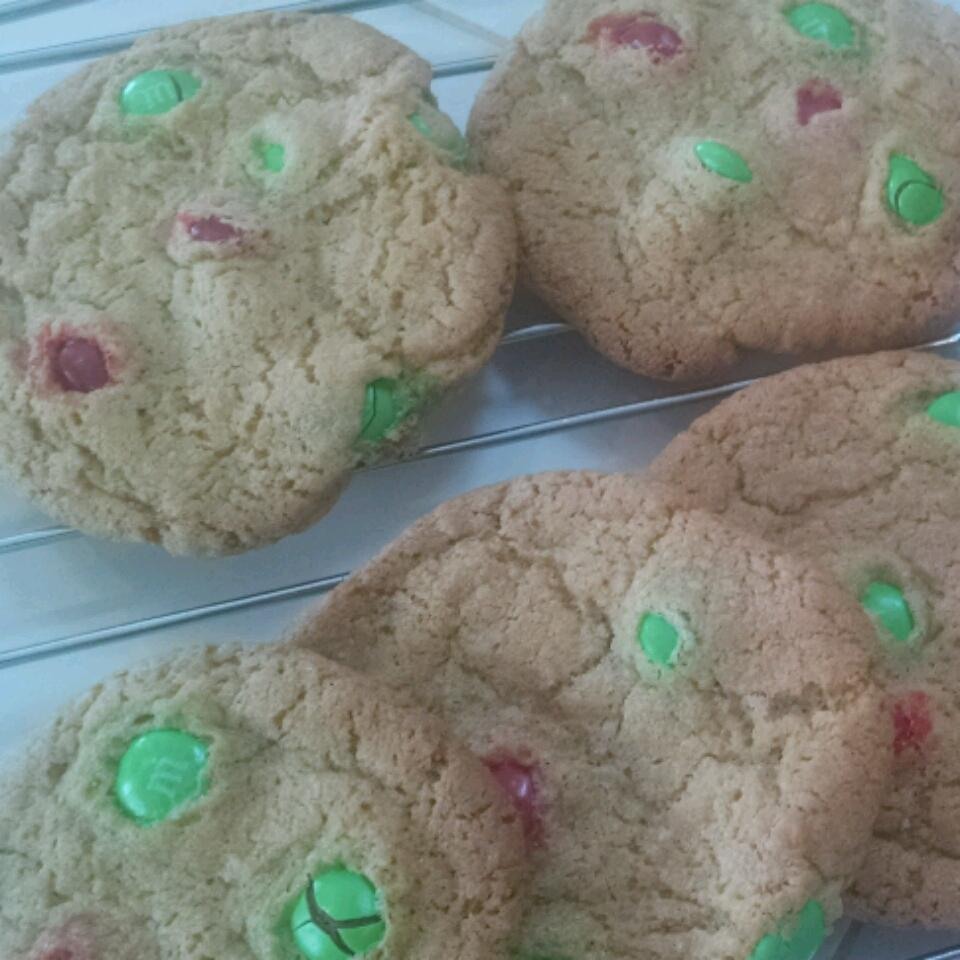 Candy-Coated Milk Chocolate Pieces Party Cookies Amber Twyman