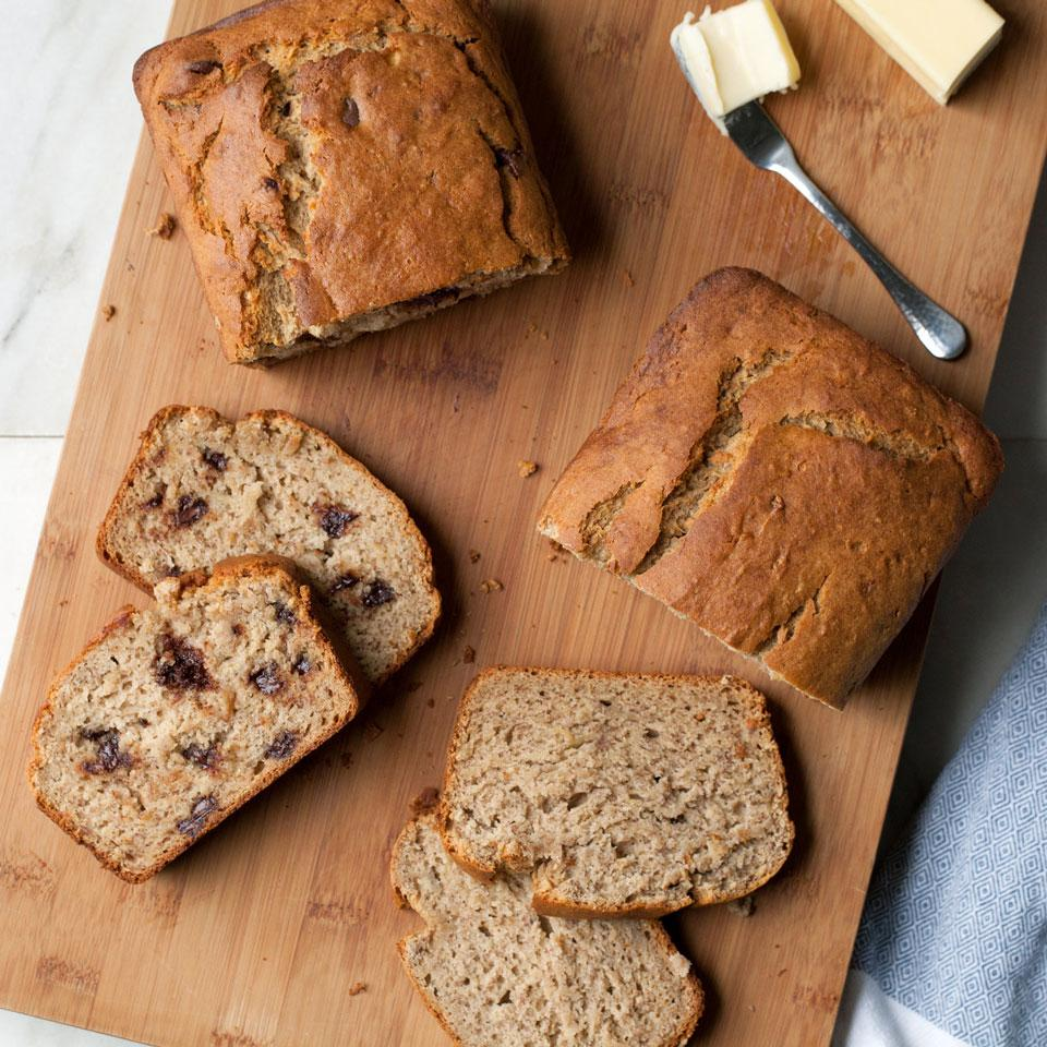 Time to use up those overripe bananas! Turn a classic quick bread gluten-free with this easy recipe. This banana bread is mouthwatering as is, but stir in some walnuts or chocolate chips to take it to the next level.
