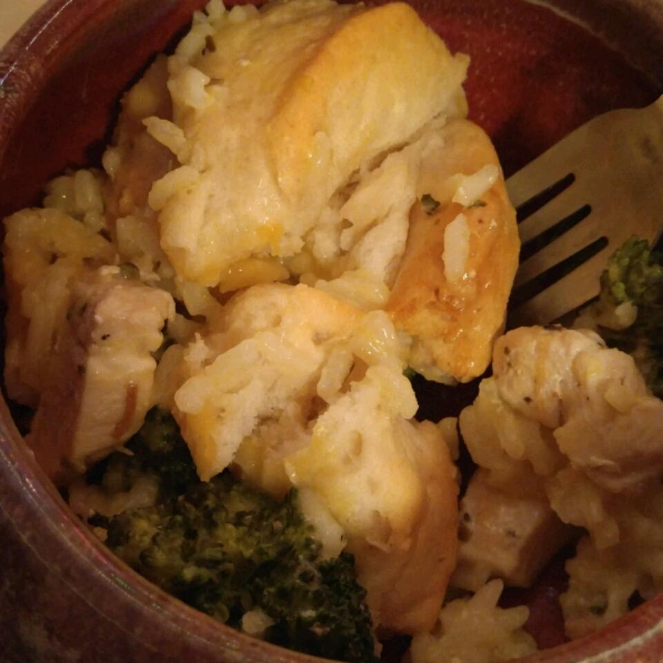 Chicken, Rice, and Biscuit Casserole Alexandria McGruder