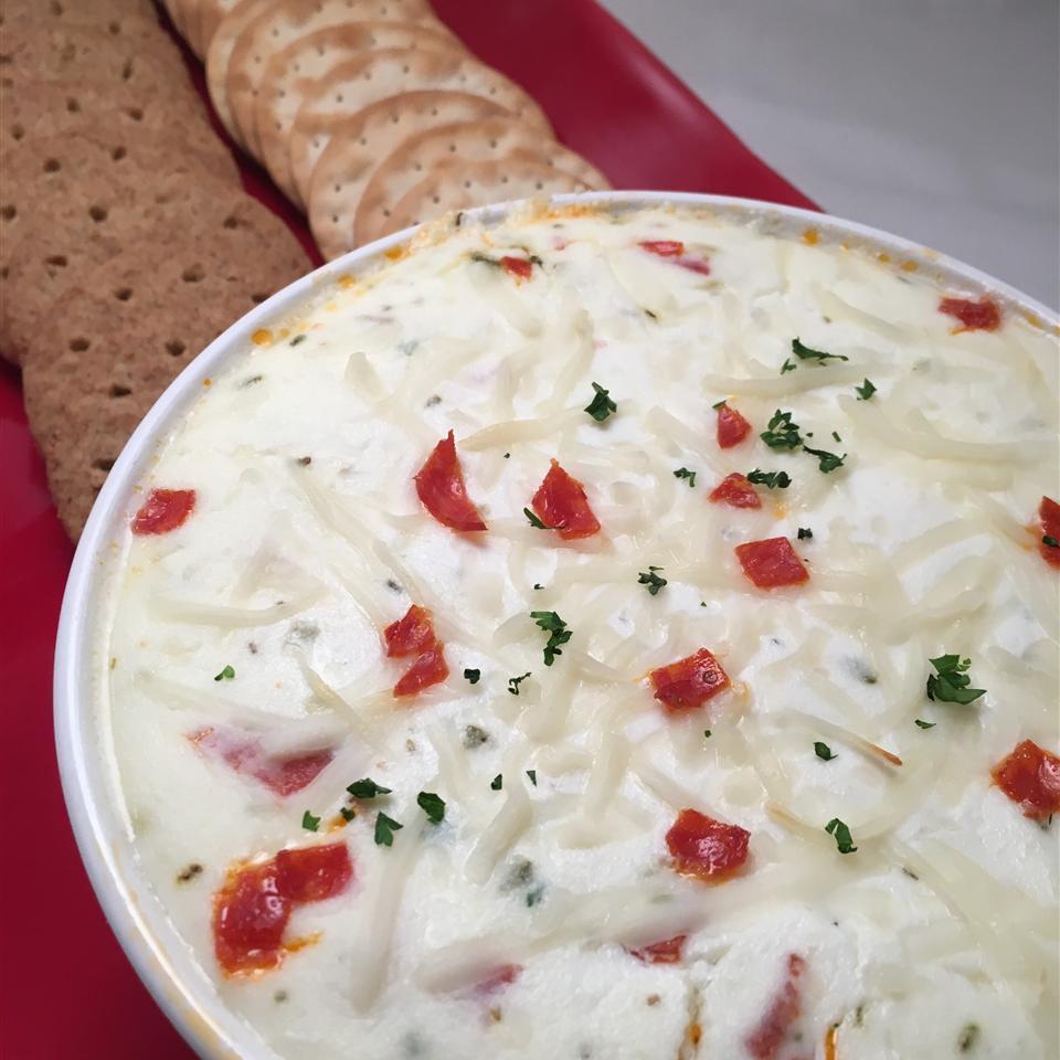 Cheesy White Pizza Dip