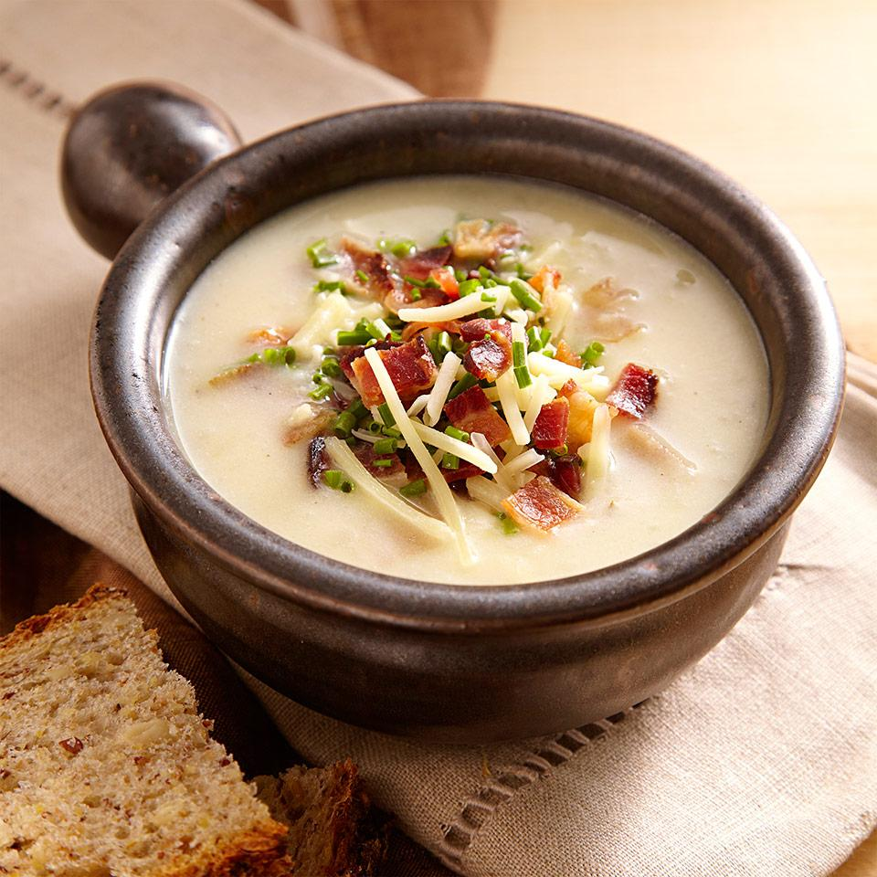 Loaded Baked Potato Soup Carolyn Casner