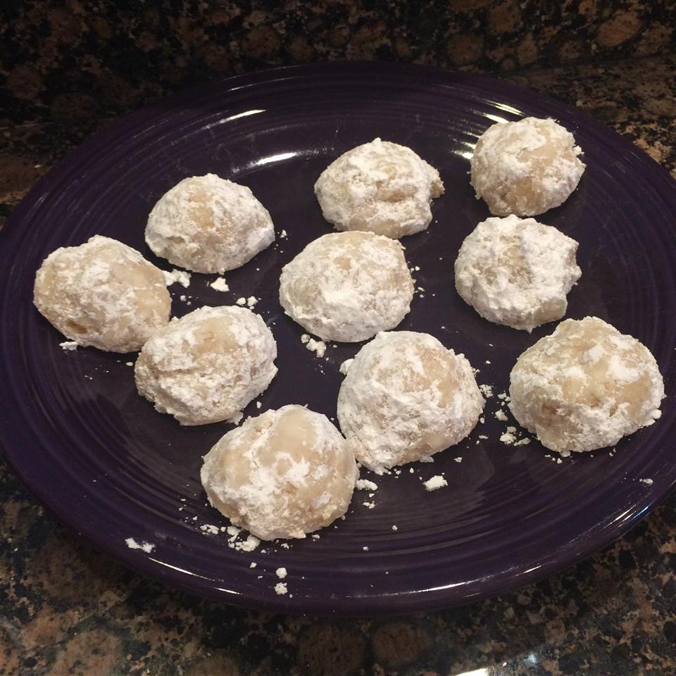 Cream Cheese Snowball Cookies Sistersam